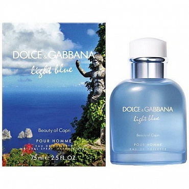 Dolce And Gabbana Light Blue Beauty of Capri Pour Homme